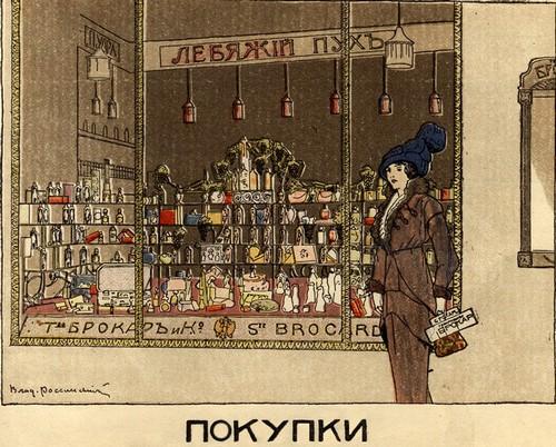 История русской парфюмерии. Реклама Brocard & Co начала 1900-х гг.