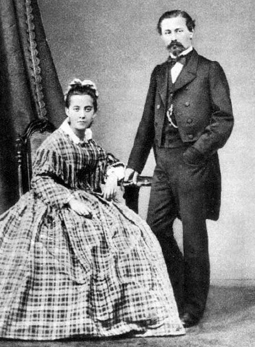 Красная Москва. Генрих Афанасьевич Брокар с женой Шарлоттой