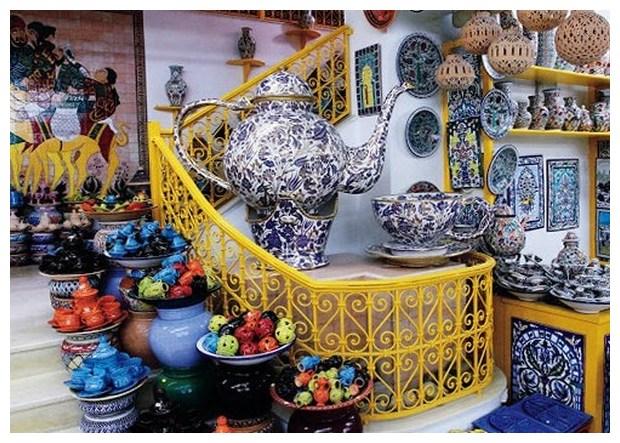 Курорты Туниса. Керамика из Гуэллалы