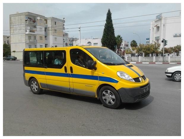 Курорты Туниса. Louage — такси для нескольких человек