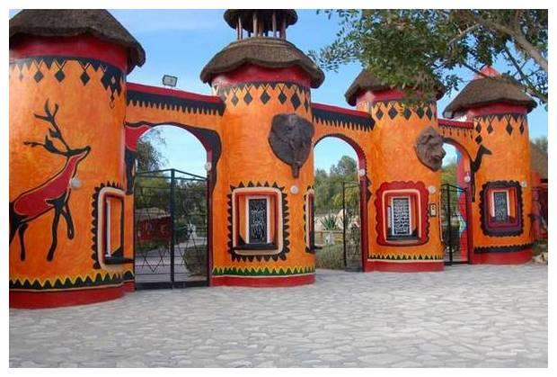 Курорты Туниса. Парк Фригия