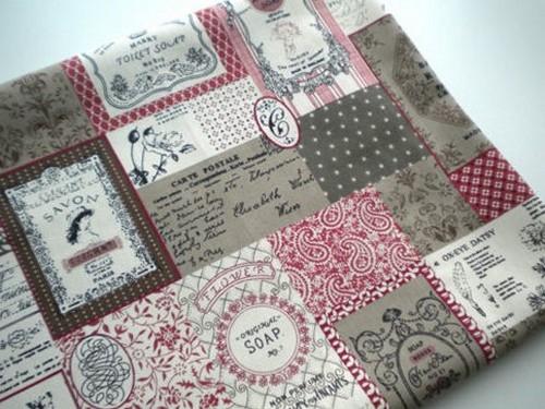 Льняная ткань. Постельное белье можно украсить принтами на любой вкус