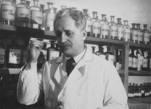 Парфюмер Август Мишель, фабрика Новая заря, 1937 г