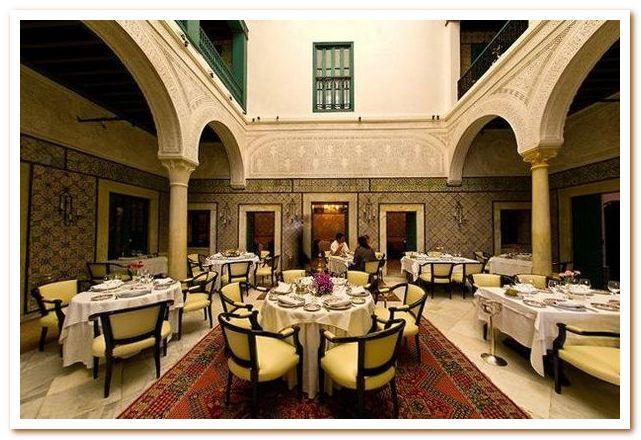 Ресторан традиционной тунисской кухни