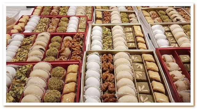 Тунисская кухня славится десертами