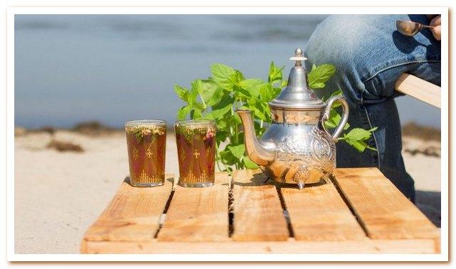 Тунисская кухня. Мятный чай