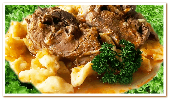 Тунисская кухня. Паприкаш из баранины