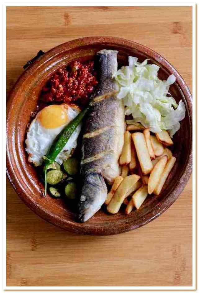 Тунисская кухня. Рыбные блюда