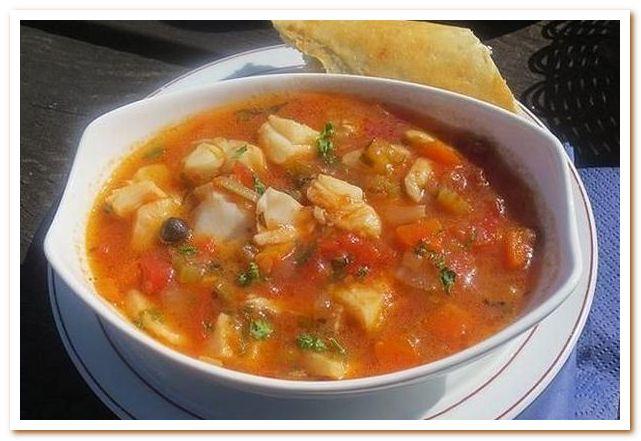 Тунисская кухня. Рыбный суп