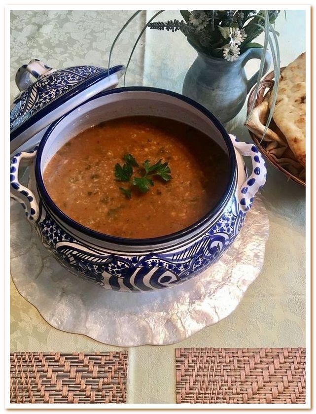Тунисская кухня. Шорба