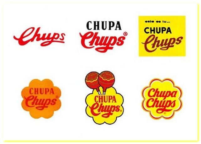 Чупа Чупс. Эволюция логотипа