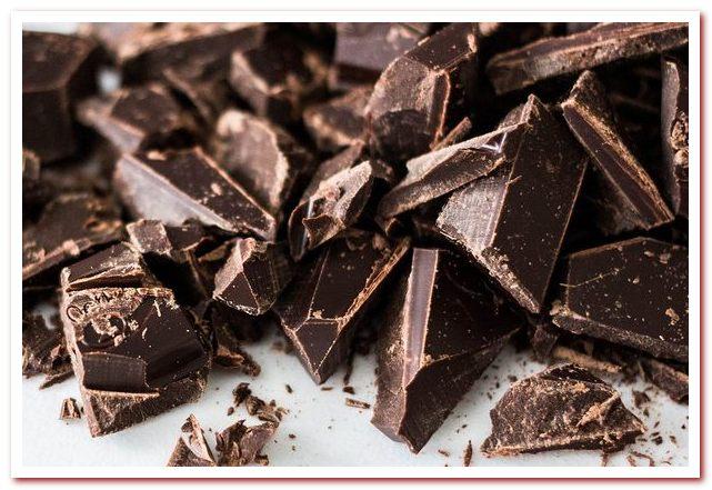 Горький шоколад и микроэлементы