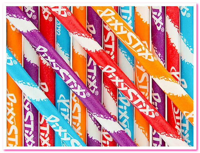 Лучшие конфеты 1950-х годов. No 1. Конфеты Pixy Stix