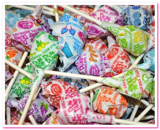 Лучшие конфеты 1950-х годов. No 10. Dum-Dum Pops