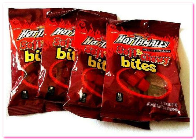 Лучшие конфеты 1950-х годов. No 5. Конфеты Hot Tamales