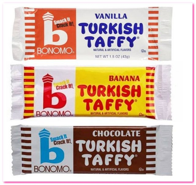 Лучшие конфеты 1950-х годов. No 8. Бономо Турецкий Ирис