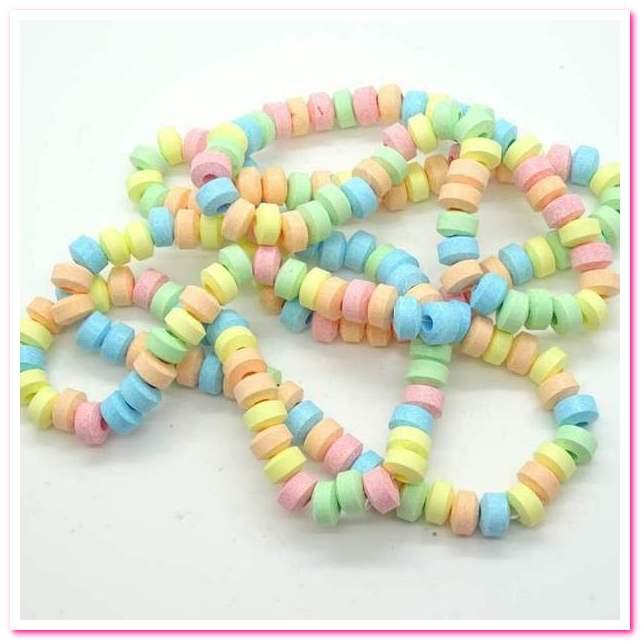Лучшие конфеты 1950-х годов. No 9. Candy Necklaces