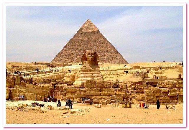 Курорты Египта. Гиза. Пирамиды и сфинкс