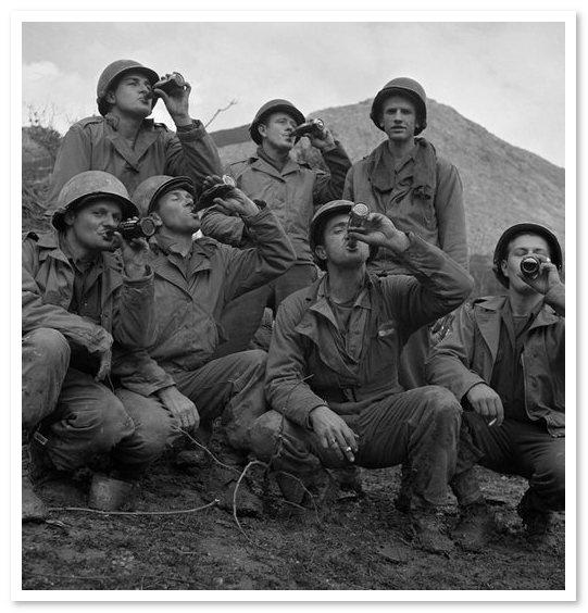 Напиток Фанта. Вторая мировая война