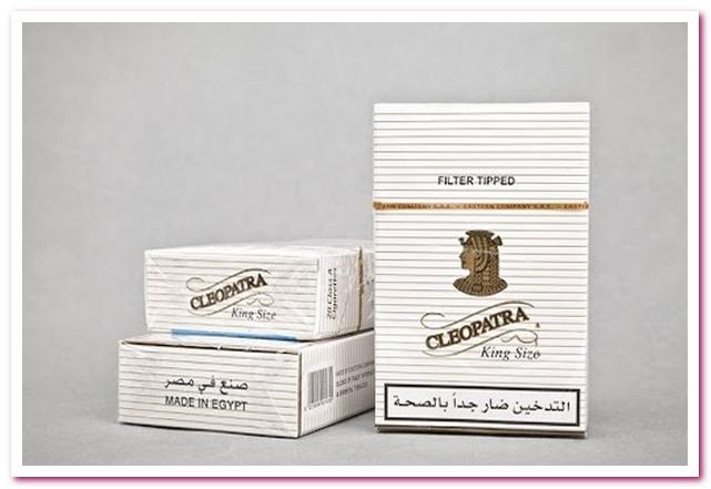 Отдых в Египте. Египетские сигареты Клеопатра