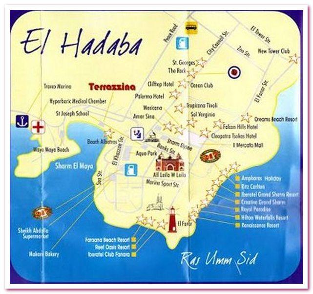 Отдых в Египте. Хадаба