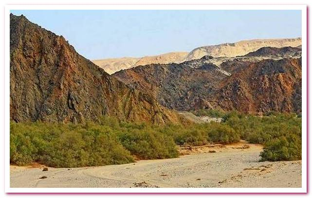 Отдых в Египте. Национальный парк Вади-эль-Хамата