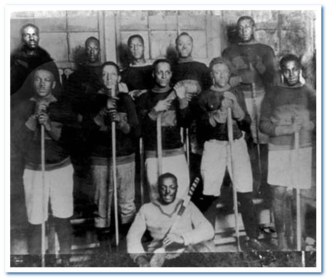 Подлинная история хоккея с шайбой. Цветная хоккейная лига.
