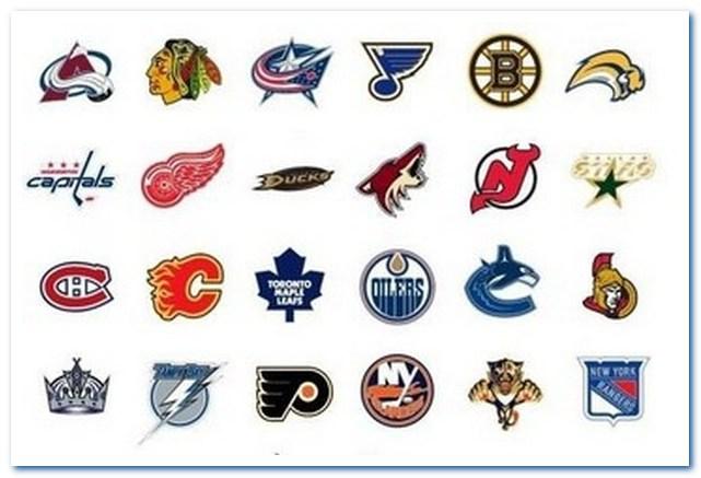 Подлинная история хоккея с шайбой. Эмблемы команд НХЛ