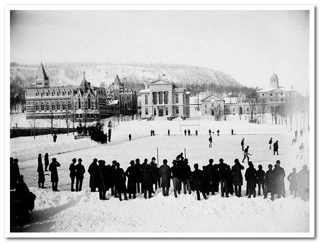 Подлинная история хоккея с шайбой. Хоккей в Университете Маггила