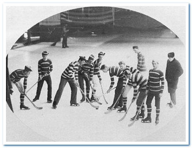 Подлинная история хоккея с шайбой. Хоккейная команда