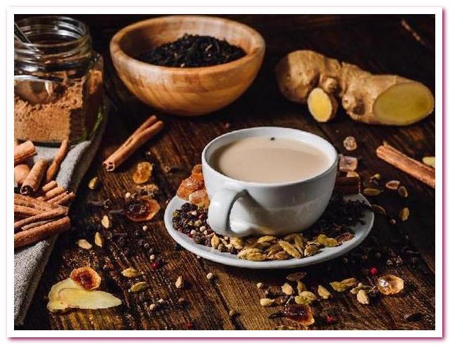 Согревающие напитки. Чай масала