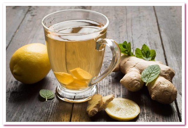 Согревающие напитки. Имбирный чай