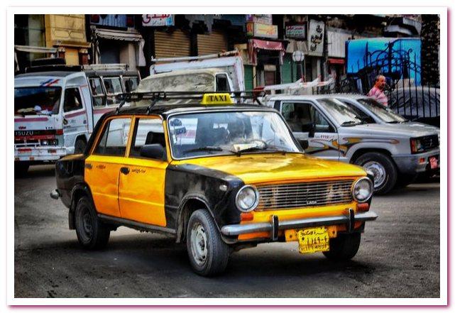 Типичное египетское такси