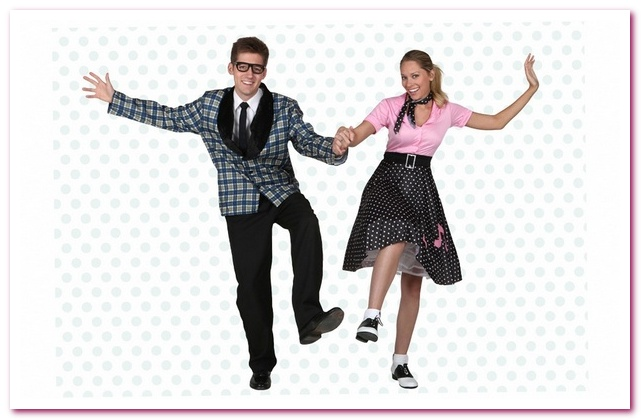 Юбки с пуделем. Мода 50-х