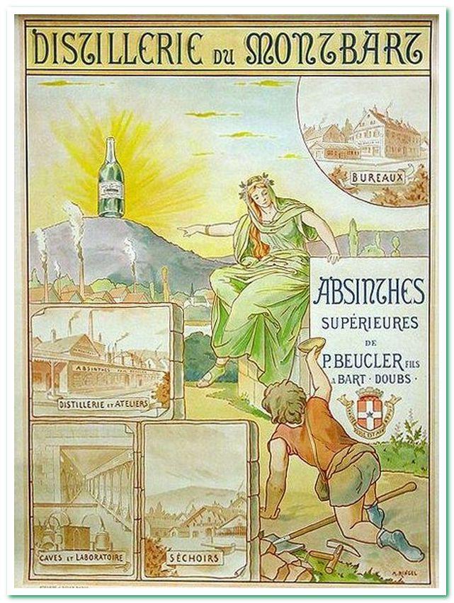 Абсент зелёная фея
