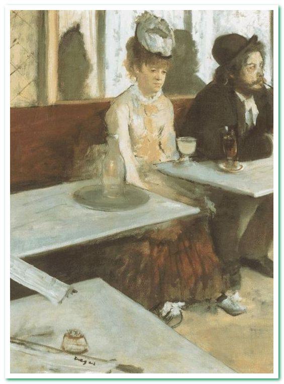 Absinthe (фр. L'Absinthe) — картина Эдгара Дега. Изначально называлась «Эскиз французского кафе», потом «Люди в кафе», а в 1893 году была переименована в «Абсент»