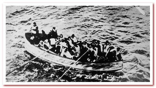 Брезентовая складная спасательная шлюпка с Титаника.
