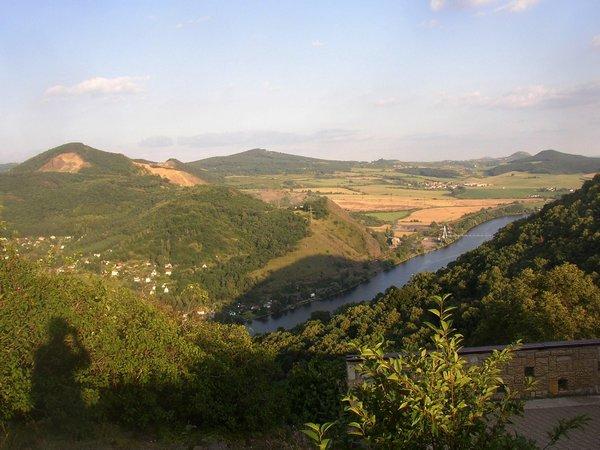 Чешский гранат. Центральные богемские горы