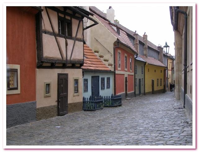Достопримечательности Праги. Злата уличка