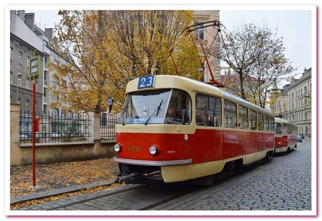 Достопримечательности Праги. Пражский трамвай
