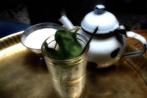 Египетская кухня. Ароматный мятный чай