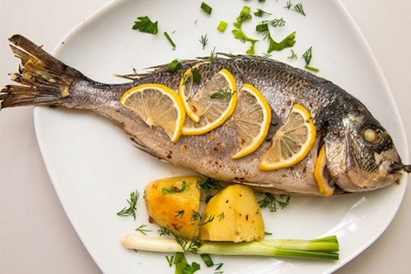Египетская кухня. Рыба денис