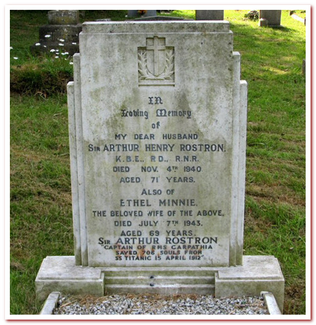 Могила капитана Рострона