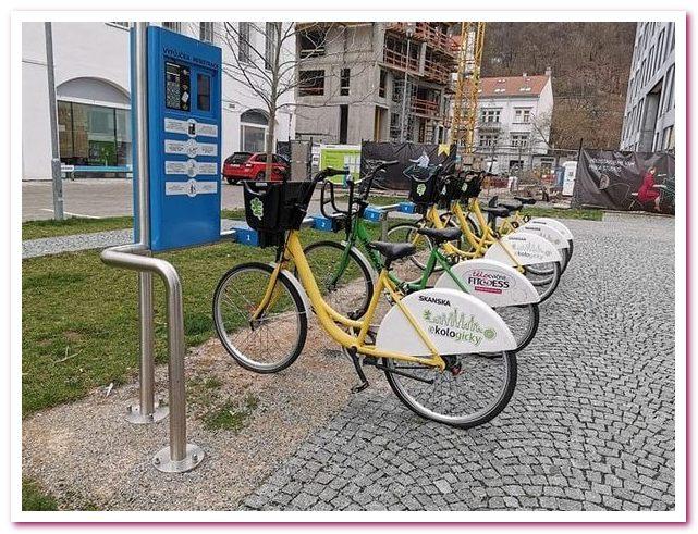 Отдых в Чехии Велосипеды в Праге доступны любому