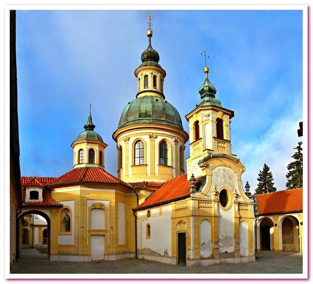 Отдых в Чехии. Церковь Богородицы Победоносной на Белой Горе