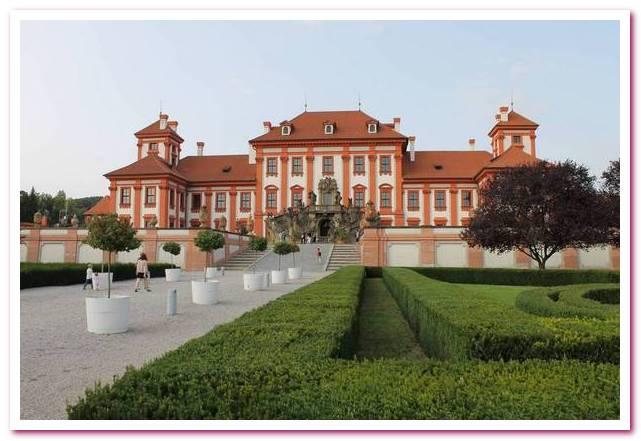 Отдых в Чехии. Дворец Троя