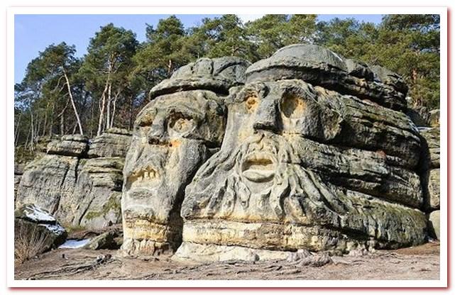 Отдых в Чехии. Дьявольские головы