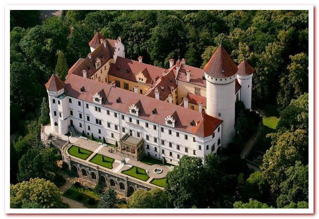 Отдых в Чехии. Конопиште