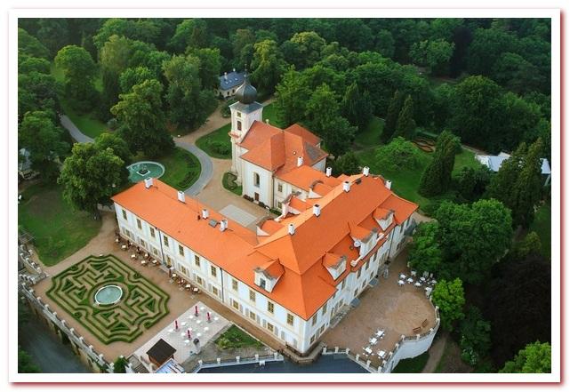 Отдых в Чехии. Замок Лоучень