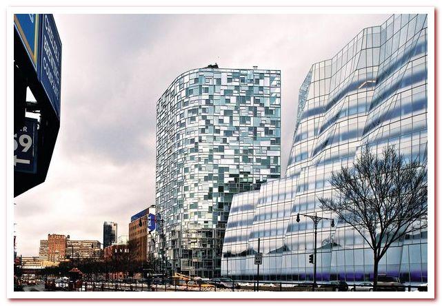 Район Челси Нью-Йорк. 100 Eleventh Avenue